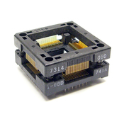 Wells-CTI 7314-080-1-08-741A Open-Top QFP Test Socket
