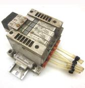 SMC VQ1100Y-5 + VQ1101Y-5 + VVQ1000-10A-1 Solenoid Valves