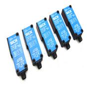 (Lot of 5) Sick WL14-2N430 Photoelectric NPN Retro-Reflective Sensors 1026048