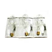 (Lot of 3) NEW Philips Lighting MS360/BU/EW Standard 360 Watt Metal Halide Bulbs