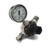 SMC Pneumatics SRH4010-N04 Pressure Regulator Air Valve w/Ashcroft 1008 Gauge