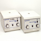 Lot: 2 Stratagene Microcentrifuge 2400 13000RPM Centrifuges w/ Rotors for PARTS