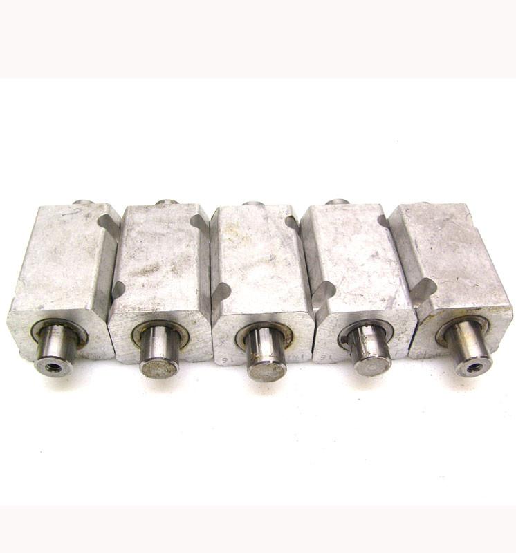 "Lot of 5 INA #16 Ball Bushing Linear Pillow Blocks 3//4/"" Bore w// 3.75/"" Rail Bar"