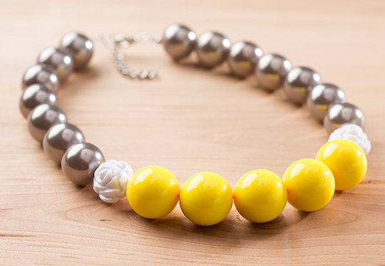 Chunky Necklace Tutorial Finished