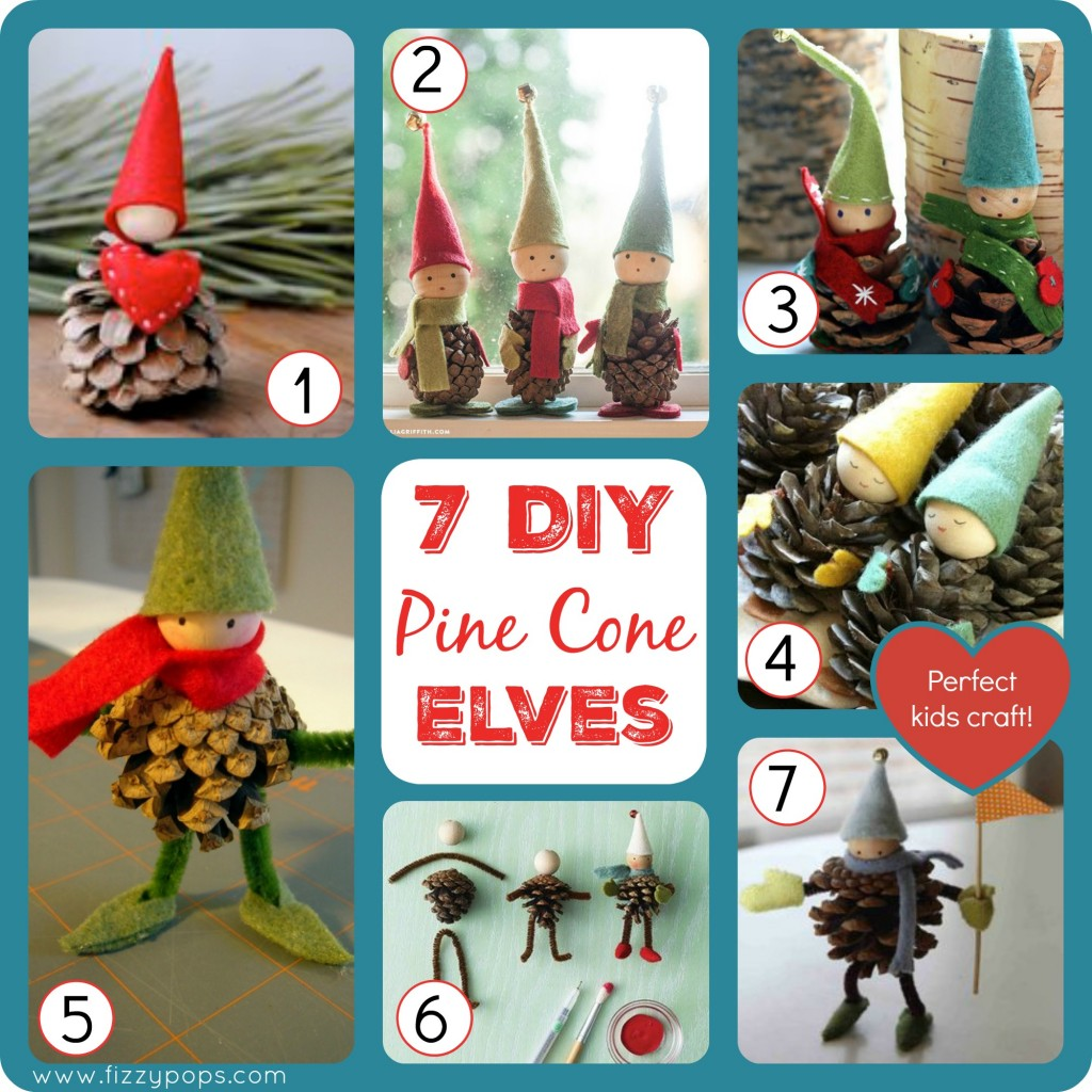 pine-cone-kids-craft-christmas