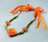 DIY Kit - Autumn Rose Necklace