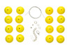 DIY Kit - Mellow Yellow Necklace