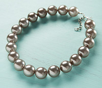 DIY Kit - Grey Pearl Necklace