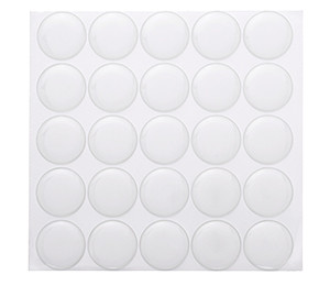 "Premium Epoxy Sticker 1"" Circle Dots"