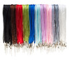Ribbon Cord Organza Voile Necklaces