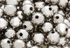 Silver Round Spacer Beads 5mm