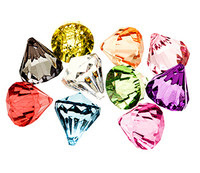 Bling Diamond Pendants Small 22x26mm