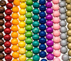 Colored Round Wooden Beads 24mm