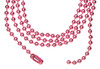 Ball Chain Necklaces Colored 18""