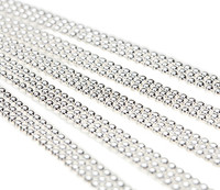 """Ball Chain Necklaces Sterling Silver Plated 18"""""""