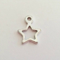 Star Charm Pendants (10 pack)