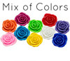 Flower Pendant Jumbo MIX 48mm (10 pack)