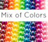 AB Round Smooth Chunky Beads MIX 12mm (50 pack)