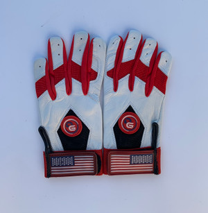 USA Leather Batting Gloves
