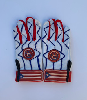PR Leather Batting Gloves