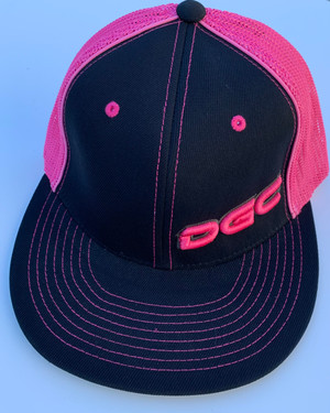 DGC Black and Pink Flex Fit