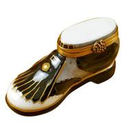 Limoges Imports Golf Shoe Limoges Box