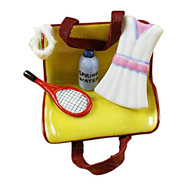 Tennis Bag W/Gear Rochard Limoges Box