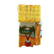 Rochard BEACH CHANGING HUT Limoges Box RT002-Y