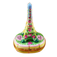 Romantic Eiffel Tower Rochard Limoges Box