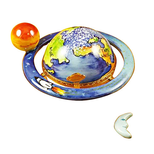 Globe - Protect Our Planet Rochard Limoges Box