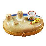 Sandcastle W/Pail Rochard Limoges Box