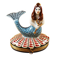 Rochard MERMAID Limoges Box RT060-I