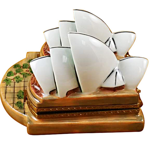 Sydney Opera House Rochard Limoges Box