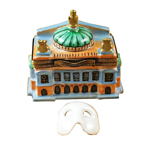 Limoges Imports Small Paris Opera House Limoges Box TT721-I