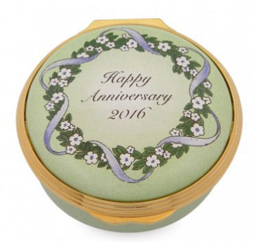 Halcyon Days 2016 Happy Anniversary Box