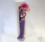 Red Hat with Purple Tassels Tassel Doll