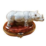 Limoges Imports Rhino Limoges Box