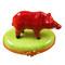 Limoges Imports Red Boar Limoges Box