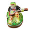 Limoges Imports Frog W/Banjo Limoges Box