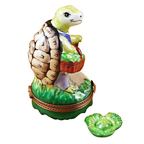 Limoges Imports Turtle Going Shopping Limoges Box