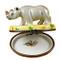 Limoges Imports Rhinoceros Limoges Box