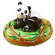Limoges Imports Panda Limoges Box