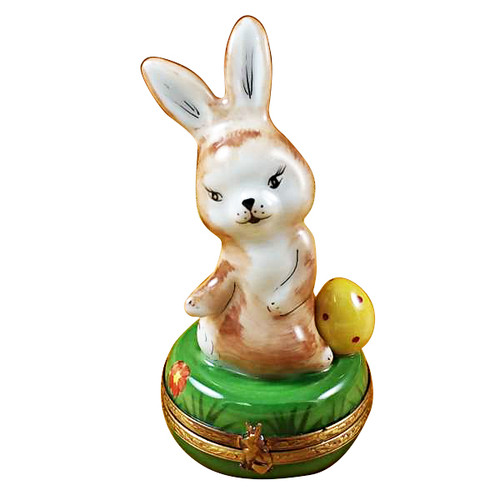 Limoges Imports Standing Rabbit Limoges Box