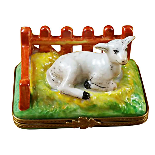 Limoges Imports Lamb By Fence Limoges Box