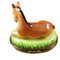 Limoges Imports Horse Laying On Grass Limoges Box