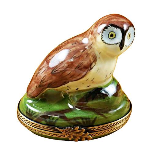 Limoges Imports Night Owl Limoges Box