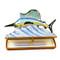 Limoges Imports Swordfish Limoges Box
