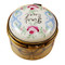 Limoges Imports Blue First Curl Limoges Box