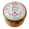 Limoges Imports Pink First Curl Limoges Box