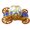 Limoges Imports Blue Cinderella Coach Limoges Box